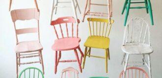 رنگ کردن وسایل چوبی با ایده و رنگ بندی متنوع