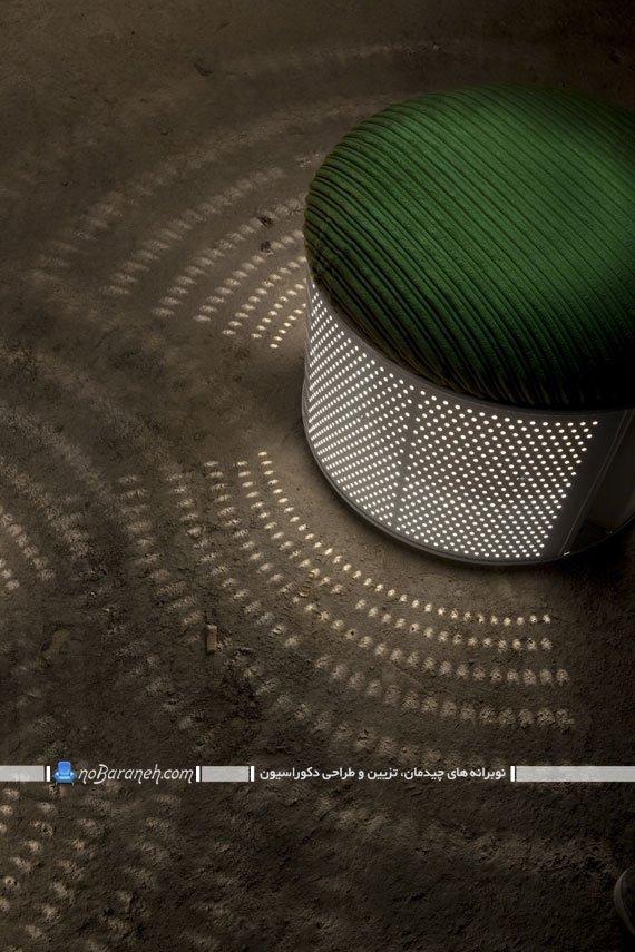 ساخت لوستر و نیمکت نشیمن در خانه