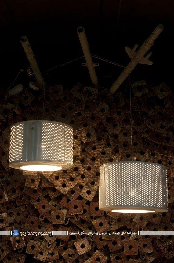 ساخت لوستر آویزان برای نورپردازی خانه
