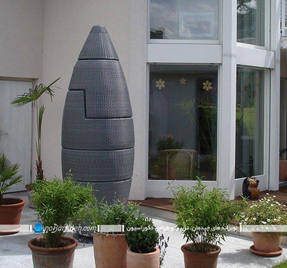 مدل مبلمان راحتی فضای باز برای باغ و خانه ویلایی