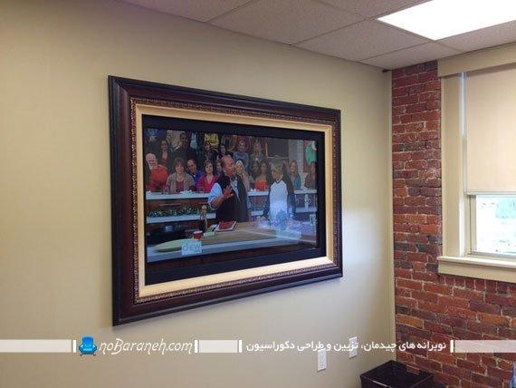 دیزاین و دکوراسیون تلویزیون دیواری با طرح های متنوع. مدل های تزیین شیک تلویزیون روی دیوار