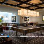 ایده های متنوع برای نورپردازی میز بیلیارد و اسنوکر خانگی