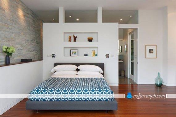 پارتیشن چوبی و زیبا برای اتاق خواب