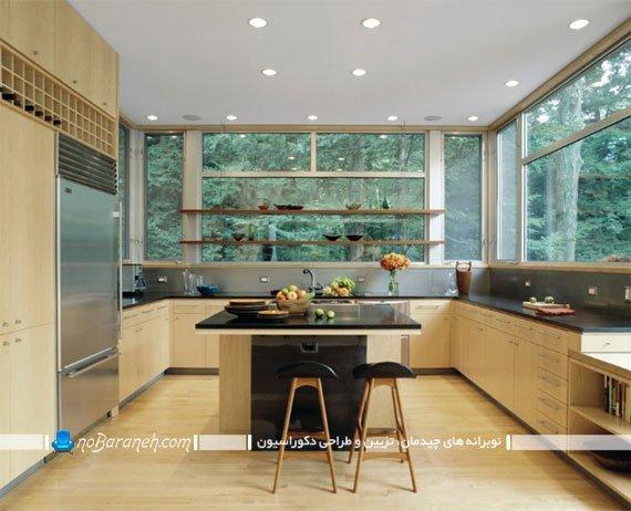 ست کردن رنگ کابینت و کفپوش آشپزخانه