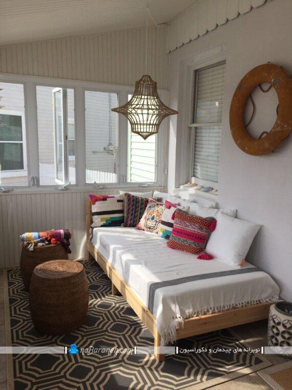 کاناپه و مبل تخت خوابشو ارزان قیمت شیک ساده مدرن. ساده ترین مدل کاناپه و مبل تخت خواب شو برای فضاهای کم و نقلی