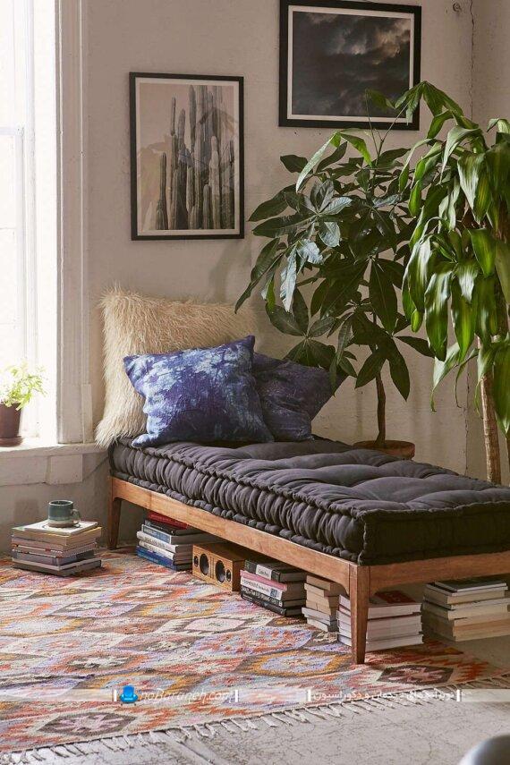 ساده ترین مدل مبل تخت خواب شو. ایده های خلاقانه و ارزان برای تبدیل تخت خواب به مبل و برعکس