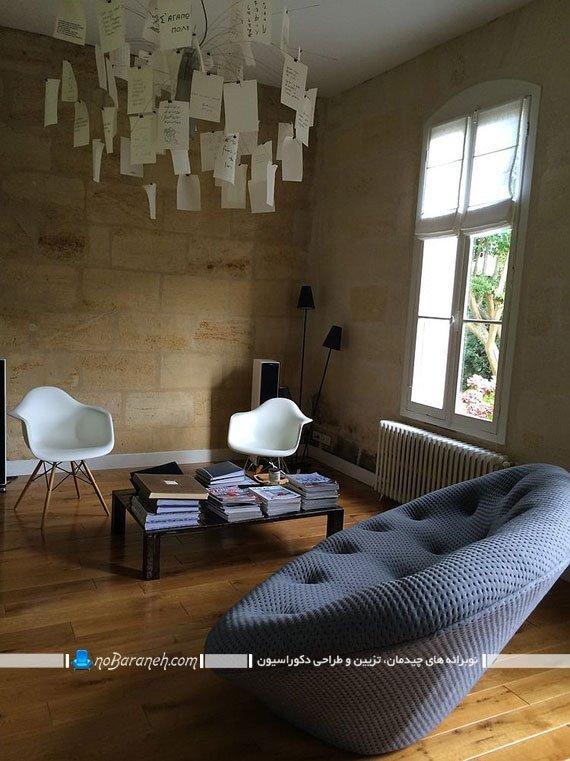 کاناپه راحتی شیک و فانتزی. مبل راحتی خوش دوخت ایتالیایی. جدیدترین مدل های مبلمان اتاق پذیرایی. مدلهای شیک و جدید مبل راحتی
