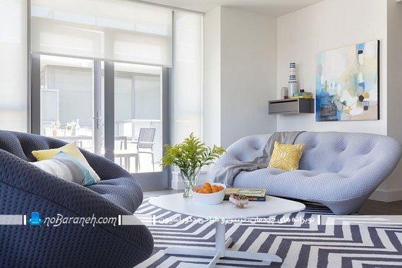 کاناپه راحتی تک با طراحی شیک و رنگ بندی متنوع. مدل های جدید و مدرن مبل راحتی یک تکه دو نفره و سه نفره مدرن و جذاب اسپرت