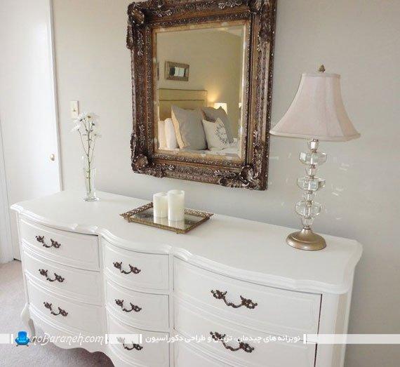 کنسول و آینه دیواری کلاسیک و سلطنتی