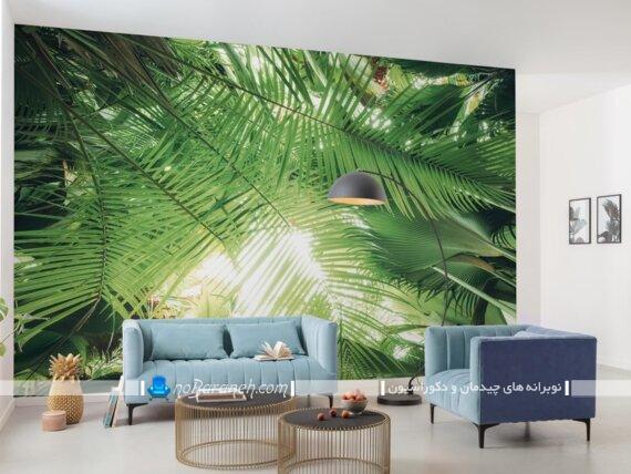 طرح و مدل های جدید پوستر دیواری بزرگ. تزیین دیوارهای داخلی منزل با پوستر و کاغذ دیواری طرح طبیعت و منظره. طرح جدید و شیک پوستر دیواری