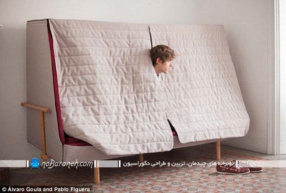 مبلمان کوچک تختخواب شو