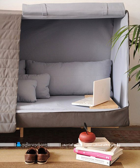 کاناپه کوچک تختخوابشو