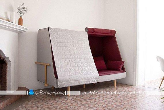 کاناپه کوچک تختخواب شو