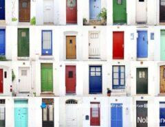 رنگ درب ورودی خانه ، حس و حال ساکنین منزل را ...