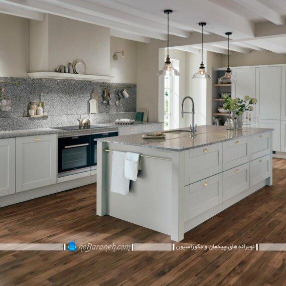 میز اپن و جزیره ممبران و رومی کلاسیک. مدل های جدید میز جزیره آشپزخانه به شکل ممبران