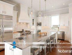 دیزاین آشپزخانه های بزرگ و سنتی در سال جدید م...