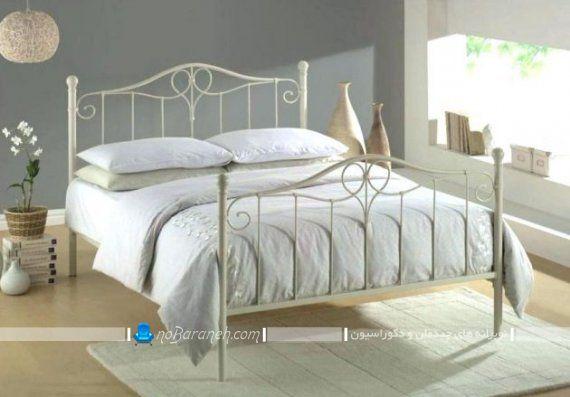 تخت خواب فرفوژه ساده و ظریف