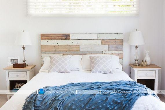 دکوراسیون اتاق خواب ساده و شیک. دکوراسیون اتاق خواب با طرح چوب. مدل تخت خواب چوبی ارزان قیمت شیک. دیزاین چوبی اتاق عروس با هزینه کم و ارزان