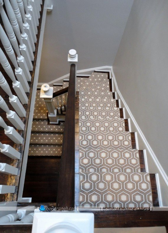 تزیین کلاسیک و شیک پله منزل