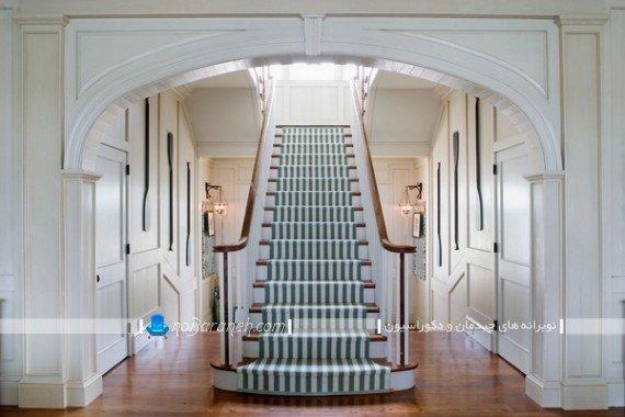 ایده های خلاقانه تزیین راه پله داخلی ساختمان