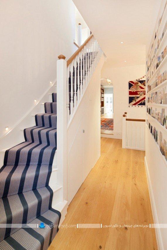 مدلهای تزیین پله های داخلی ساختمان