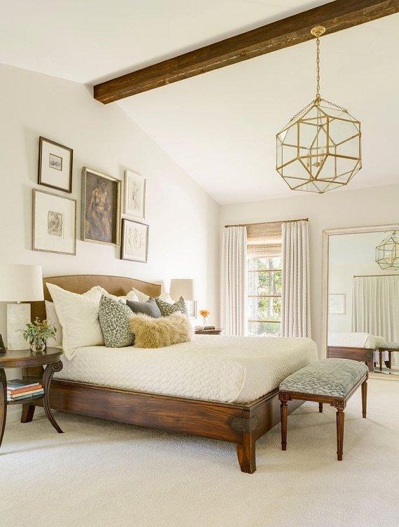 دکوراسیون کلاسیک اتاق خواب با طرح چوب ، تزیین اتاق خواب با وسایل ساده