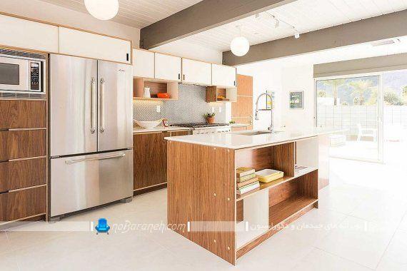 طراحی دکوراسیون چوبی در آشپزخانه