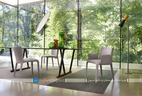 طرح جدید و مدرن میز ناهارخوری