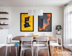 چراغ آویز و لوسترهای زیبا برای نورپردازی میز ...