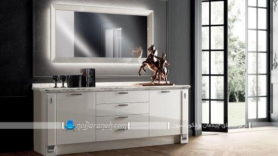 مدل کنسول آینه دار مدرن و شیک