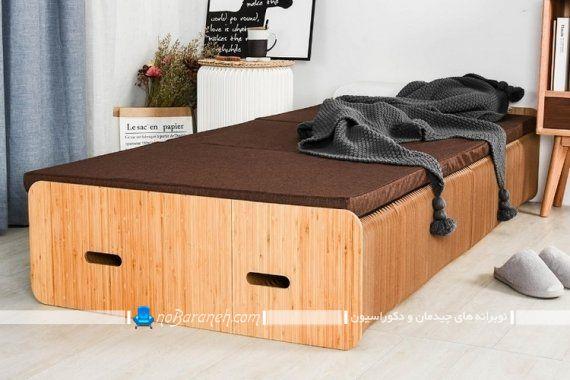 تخت خواب کمجا آکاردئونی