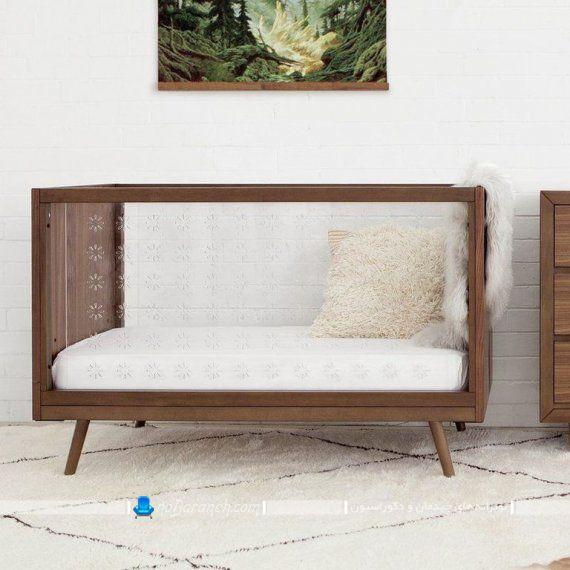 مدل جدید تخت خواب نوزاد با بدنه شیشه ای و قیمت ارزان
