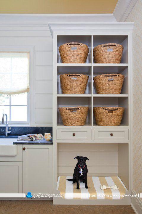 طراحی لانه و خانه سگ و گربه در منزل