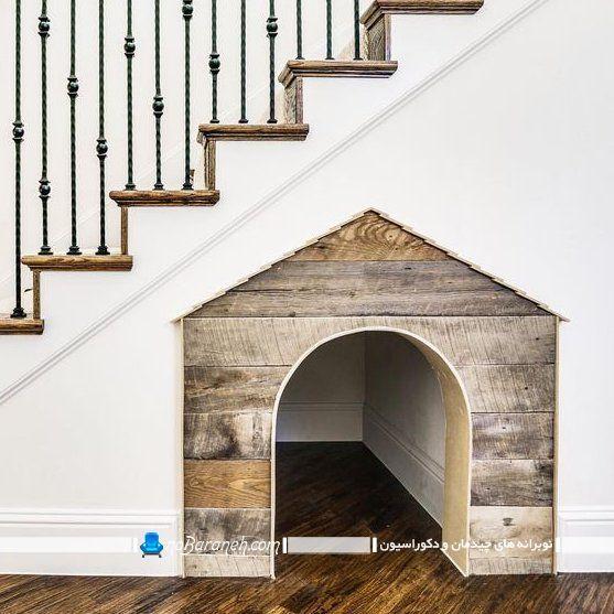 لانه چوبی برای سگ و گربه خانگی