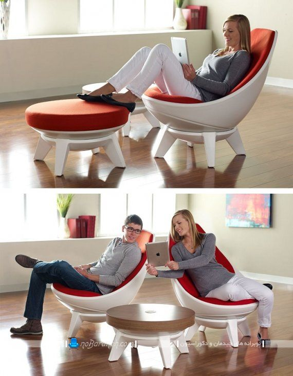 صندلی راحتی اداری و تکان خور. صندلی راک مدرن و مبلی. صندلی گهواره ای ارزان و شیک