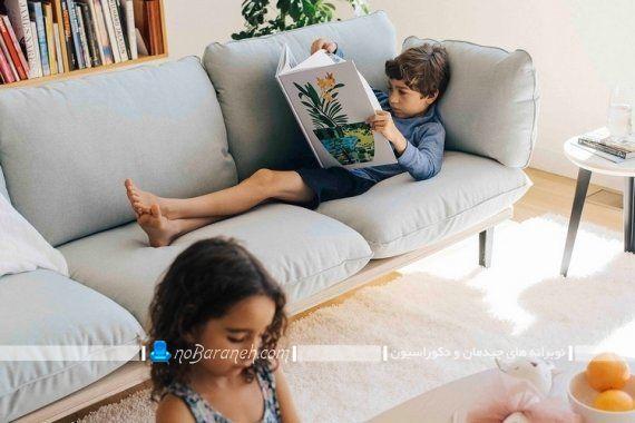 مدل جدید و مدرن کاناپه راحتی سه نفره ارزان قیمت