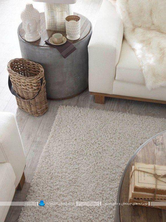 کفپوش چوبی مدرن و شیک خاکستری. لمینت و پارکت چوبی ساده و مدرن برای دکوراسیون منزل