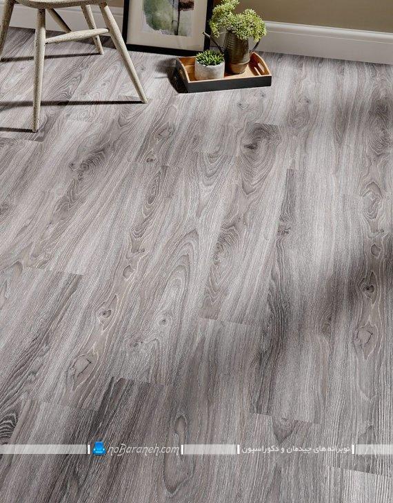 کفپوش های چوبی خاکستری رنگ شیک مدرن زیبا برای اتاق پذیرایی آشپزخانه اتاق خواب