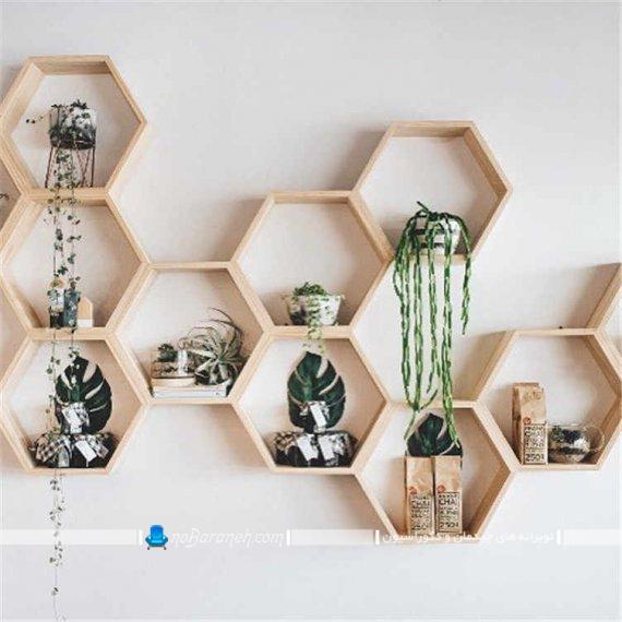 مدل های جدید شلف و باکس چوبی و دیواری مدرن و شیک دکوراتیو تزیینی برای اتاق پذیرایی آشپزخانه اتاق خواب.