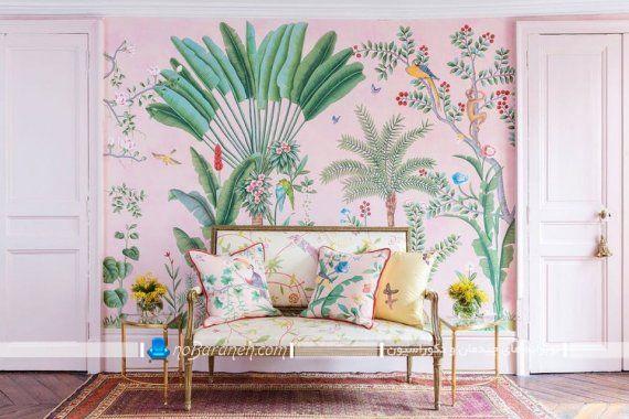 تزیین دیوار پشت کاناپه با پوستر کومار فانتزی