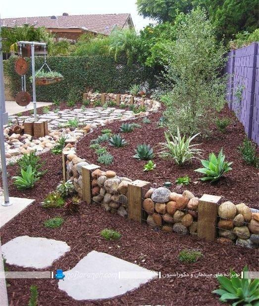 مدل های جدید تزیین و دیزاین باغچه