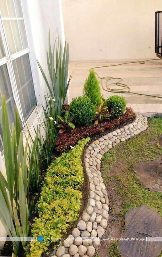 سنگ ریزه های تزیینی برای باغچه
