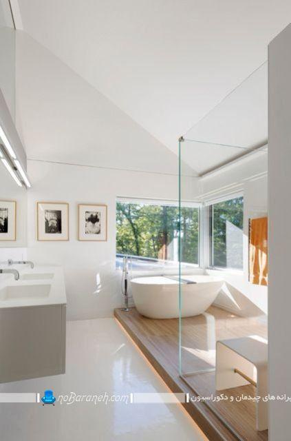 نصب وان حمام در ارتفاع