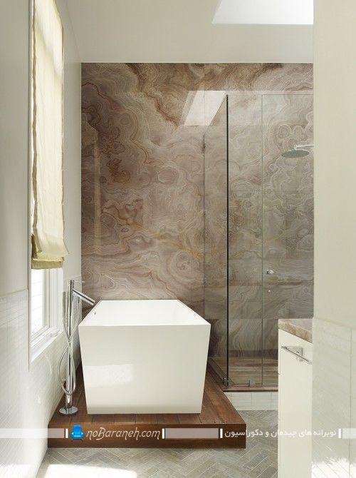 طراحی دوبلکس تک پله در حمام