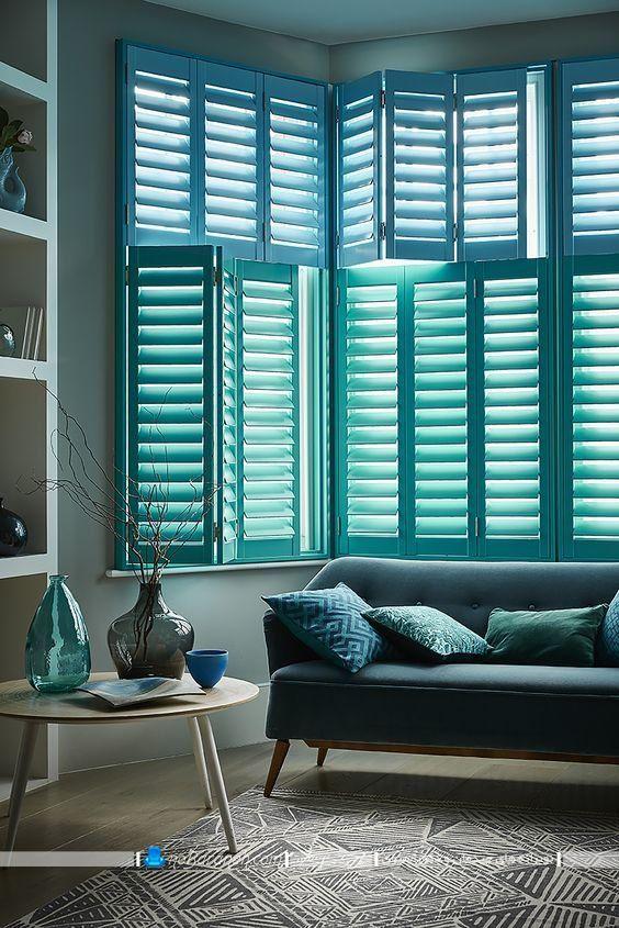 پوشش شیک پنجره های داخلی