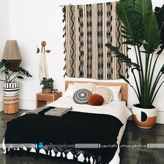 تزیینات دست باف برای دکوراسیون اتاق خواب