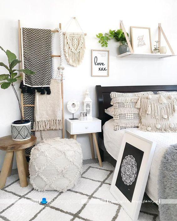 تزیینات ساده و ارزان برای اتاق خواب