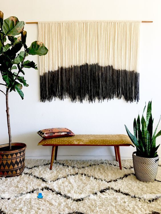 تزیینات دیواری ساده و دست ساز با وسایل دور ریختنی