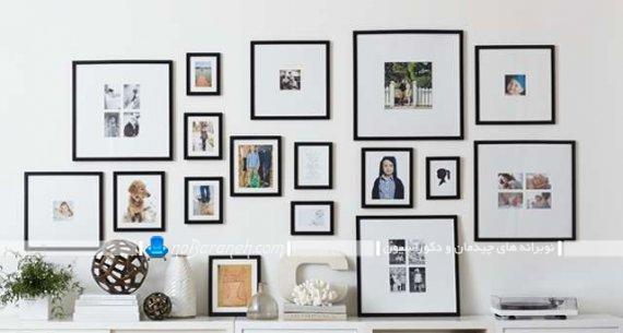 تابلو عکس های چند تکه دکوری برای تزیین دیوارهای منزل از اتاق خواب تا اتاق پذیرایی