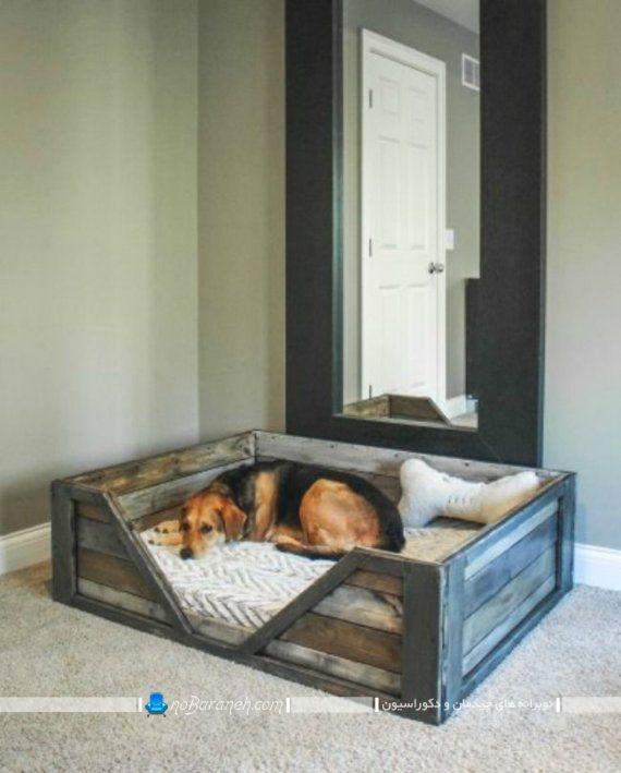 لانه و جای خواب سگ و گربه خانگی